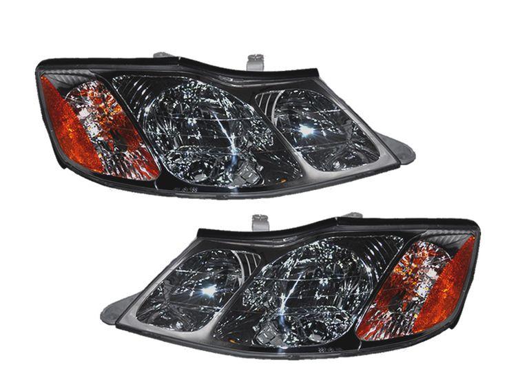 2000-2004 Toyota Avalon Halogen Headlights Set: 2000-2004 Toyota Avalon Halogen Headlights Set #CarHeadlights #AutoHeadlights