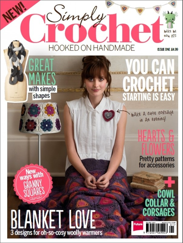 Crochet Magazine : Simply Crochet magazine image crochet.. love it Pinterest