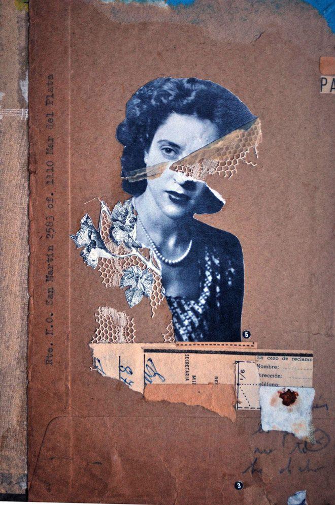 Paz Brarda, nada de ordenadores y mucho collage handmade | Singular Graphic…