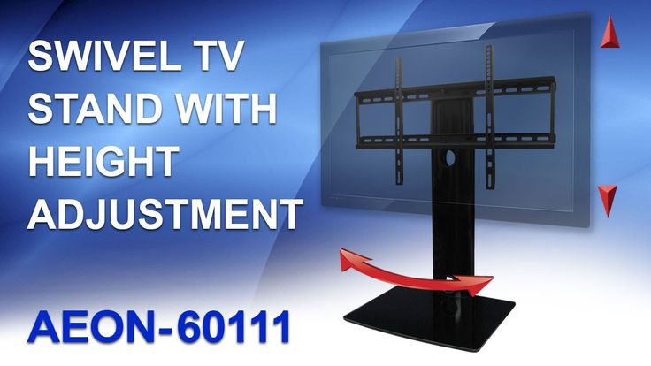 Swivel TV Stand with mount. Table Top TV Stand-Review by AV Express