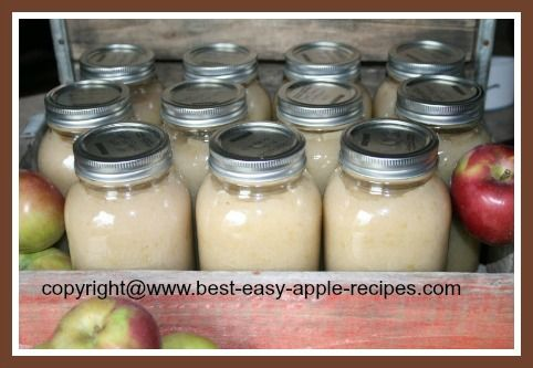 This applesauce recipe provides step by step instructions for how to make applesauce for canning or freezing using a Victorio Strainer or KitchenAid Grinder Attachment.