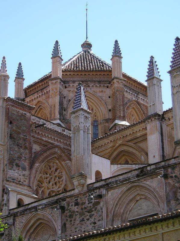 Monasterio de Guadalupe. Cáceres. Extremadura.
