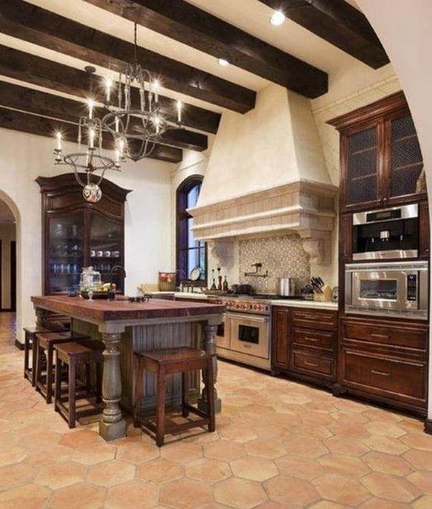 Awesome Modern Mediterranean Kitchen Design Mediterranean
