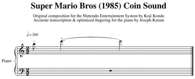 Mario Coin Sound