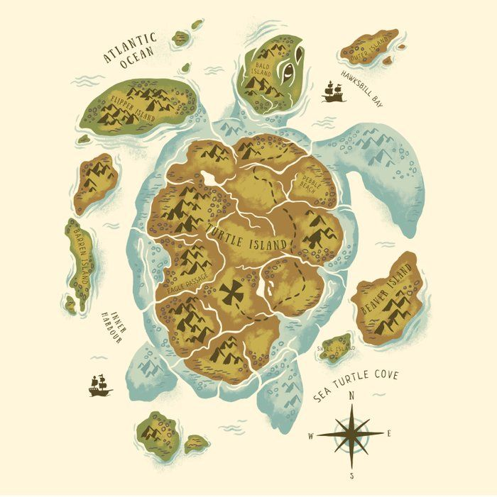 Turtle Island Comforters Island Art Art Art Prints