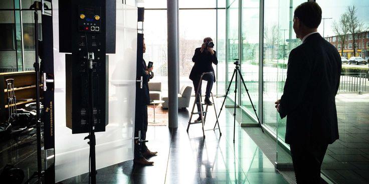 fotoshoot CEO Rabobank