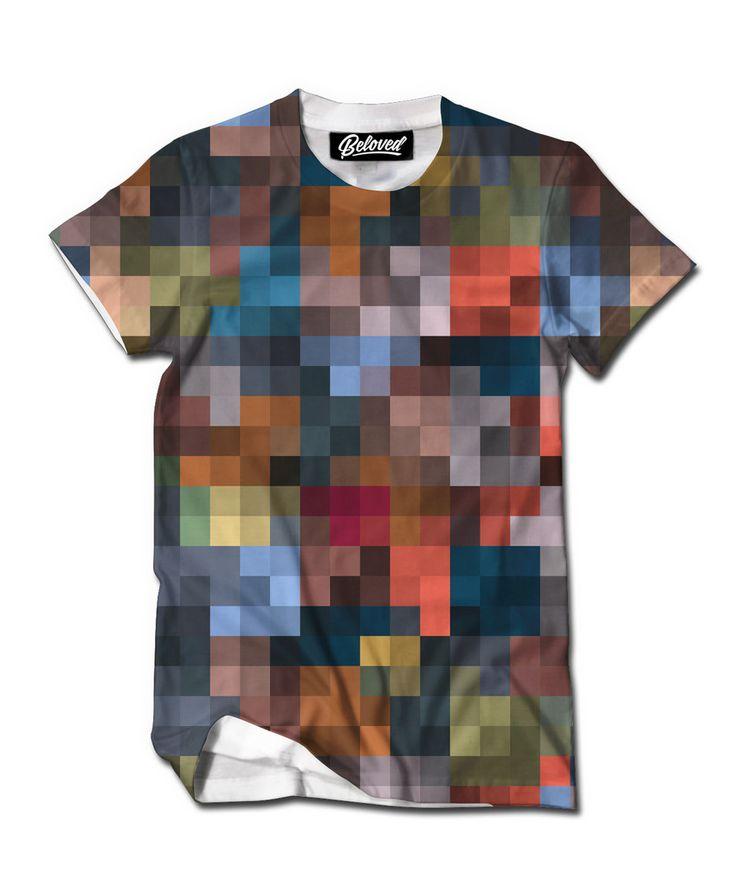 Píxela una imagen y hazte una camiseta chulísima en: http://www.regalosconfoto.com/camisetas-personalizadas/