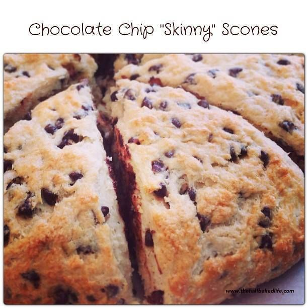 Choco Chip Skinny Scones!