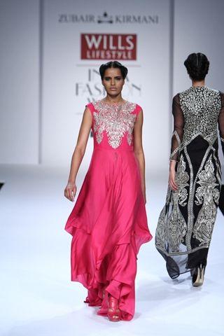 Zubair Kirmani. WLFW A/W 14'. Indian Couture.