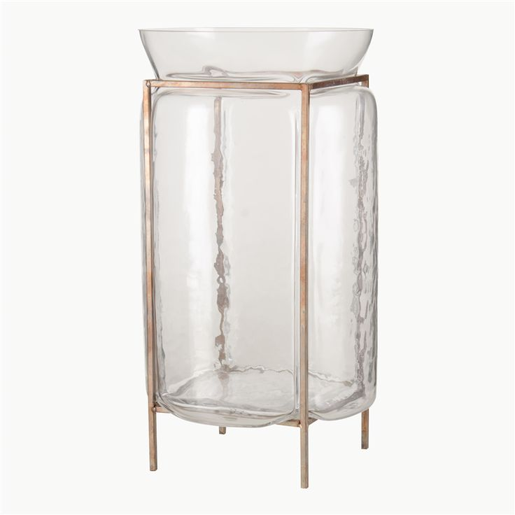 hurricane glass & metal 33cm