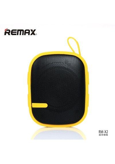 REMAX BLUETOOTH RM-X2 Bluetooth speakers yellow