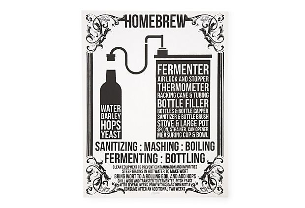 Home Brew, Print on OneKingsLane.com  from I Screen You Screen