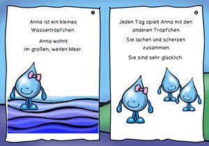 Kreislauf des Wassers: einfach lesen