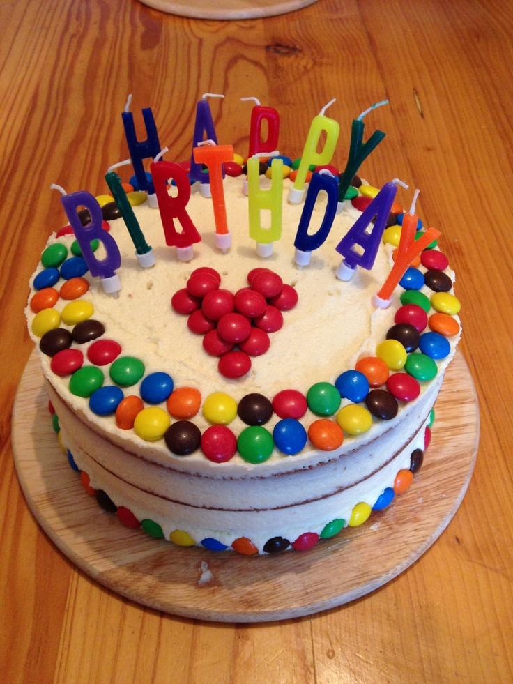 Happy birthday cake I baked for my best friend's birthday. #Birthdaycake