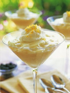 Light-As-A-Cloud Lemon Mousse - Very light, very lemony, and very delicious!