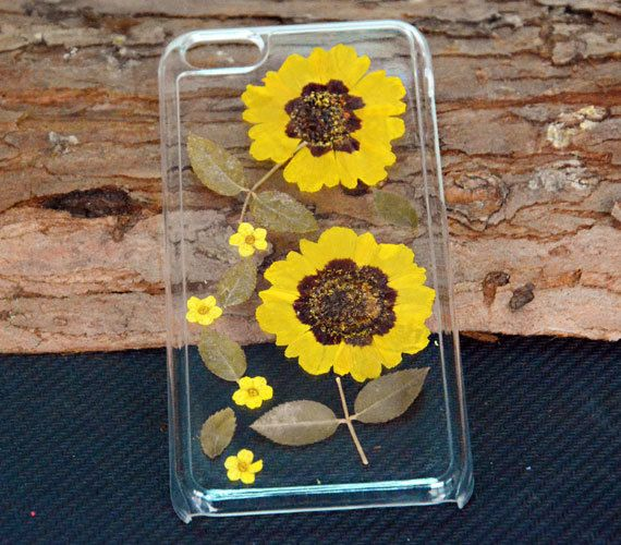 Personalized Phone caseReal sunflower Phone by UUniquecase on Etsy