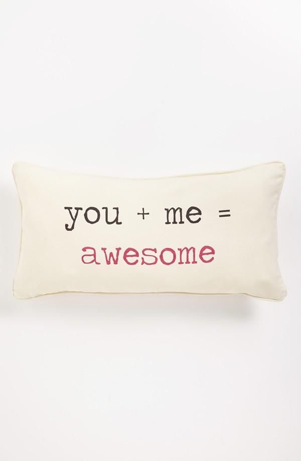 you + me = awesome // indeed. :)