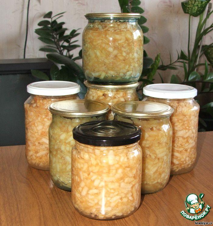 Яблочная начинка для пирогов ингредиенты