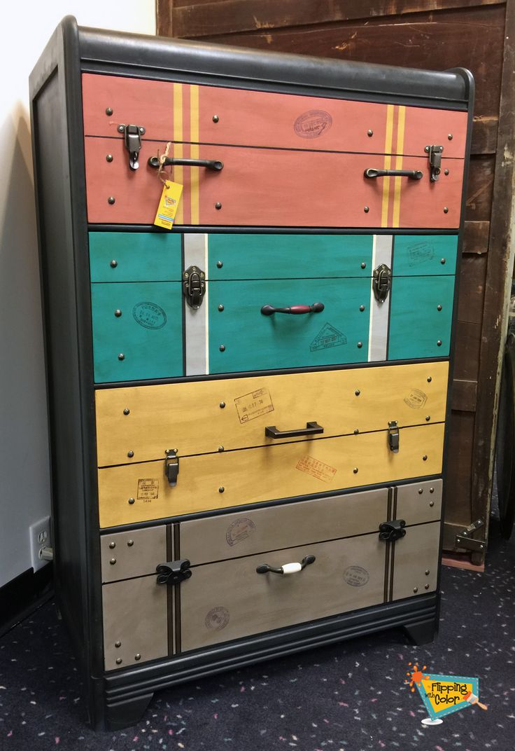 Uncategorized hand painted childrens table and chairs foter - This Great Waterfall Dresser Was Hand Painted To Be A One Of A