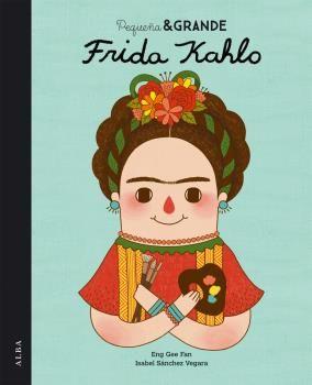 Este libro les enseña a los niños sobre una artista muy importante, Frida Kahlo. Es un libro muy bien ilustrado que es facil de leer con colores vibrantes. Les enseña a los niños que importante fue esta artista en la historia Mexicana.
