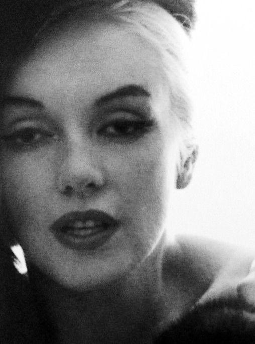 """"""" Marilyn Monroe in 1962 © Bert Stern. """""""