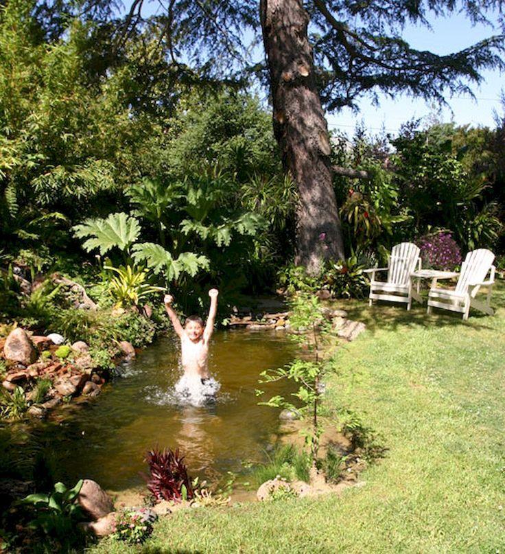 70 Simple And Fresh Small Backyard Garden Design Ideas