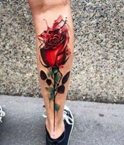 21 Tatuajes de rosas con espinas
