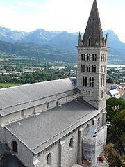 Cathédrale Notre Dame du Réal, Embrun (Hautes-Alpes)  Provence-Alpes-Côte d'Azur