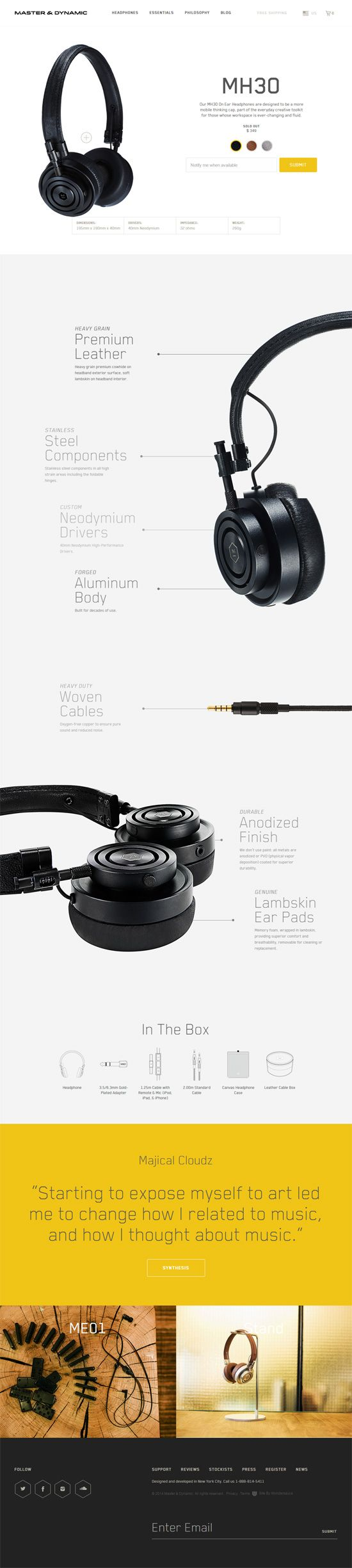 30 Beautiful Ecommerce Product Page Designs