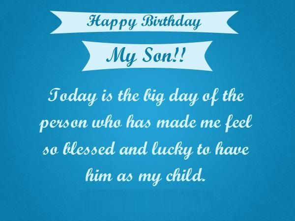 Happy Birthday Son quotes, images, pictures, messages