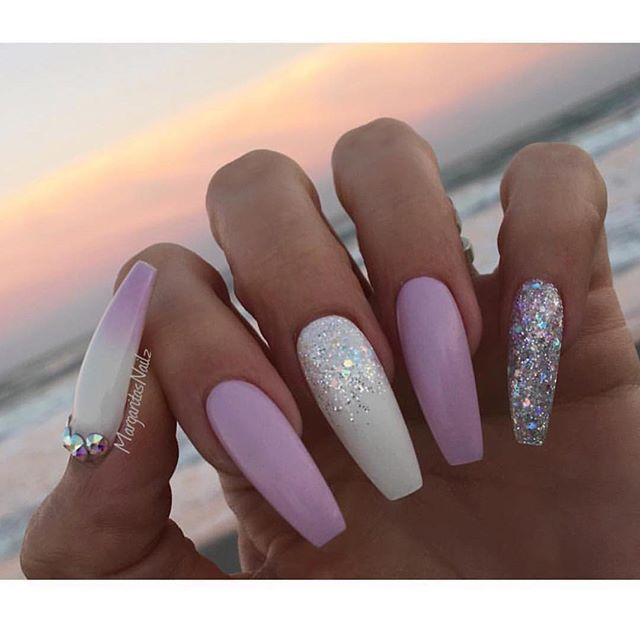 1000+ Ideas About Long Nail Designs On Pinterest
