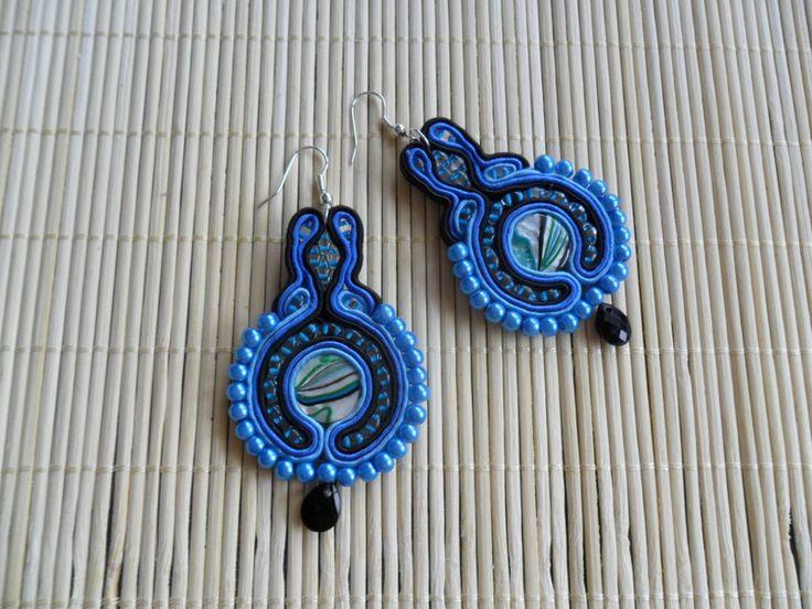 earrings soutache Amelia from Kokonek by DaWanda.com
