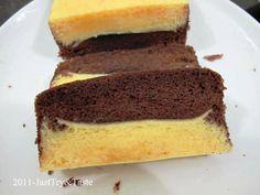 Just Try & Taste: Cake Kukus Lapis Coklat Keju