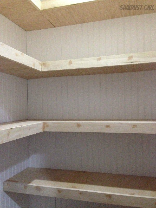 How To Build Corner Floating Shelves Ideas For The House