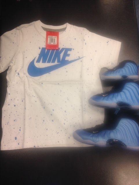 Details About Nike Kids Graphic T Shirt University Blue