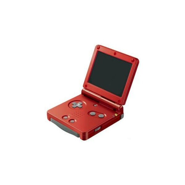 Nintendo Gameboy Advance SP review - IT Reviews ❤ liked on Polyvore featuring electronics, fillers, games, accessories and game systems