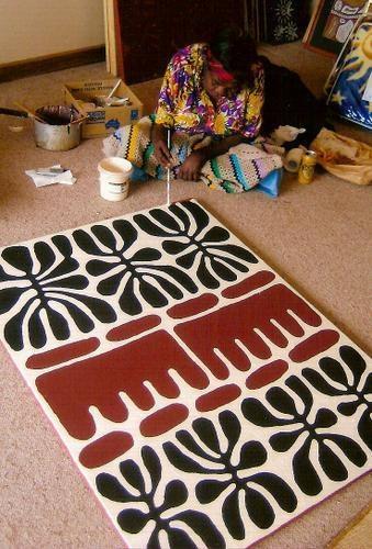 Mitjili Napurrula, Aboriginal artist                                                                                                                                                      Plus