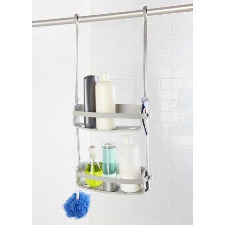Smart badrumsförvaring för flaskorna i duschen!