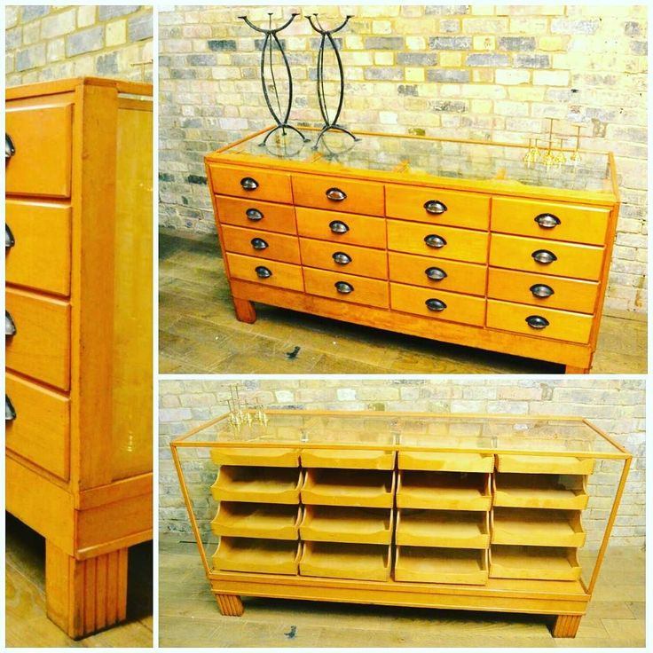 1930s Oak Haberdashery / Drapers Shirt Counter from D and A Binder I This is what we do. We source these gorgeous lustrous cabinets for our clients from bow glass Victorian jewelry cabinets to art deco shirt cabinets. This particular piece is 1930s a true vintage piece in excellent original condition and 16 graduated drawers. Come instore to see this gorgeous piece for yourself or check out our website & social media for more!