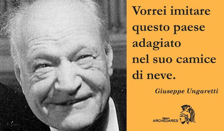 """13/03/2015: Durante la giornata mondiale del sonno, non potevamo non ricordare la poesia """"Dormire"""" del grande Giuseppe Ungaretti!"""