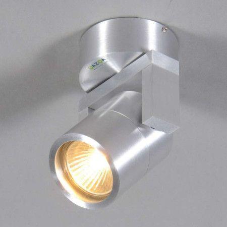Vägg och plafond strålkastare 'Move 1' Design aluminium - Passande för LED / Utomhuslampa, Inomhus, Badrum