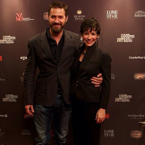 Richard and Evangelina Lilly (Tauriel)