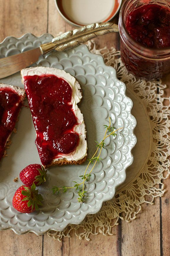 Strawberry-Thyme Jam | Recipes To Try | Pinterest