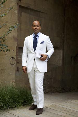 25  best ideas about Mens white suit on Pinterest | Groom wedding ...