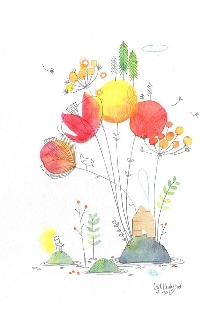 Residence Secondaire Les Chosettes Illustration Effet