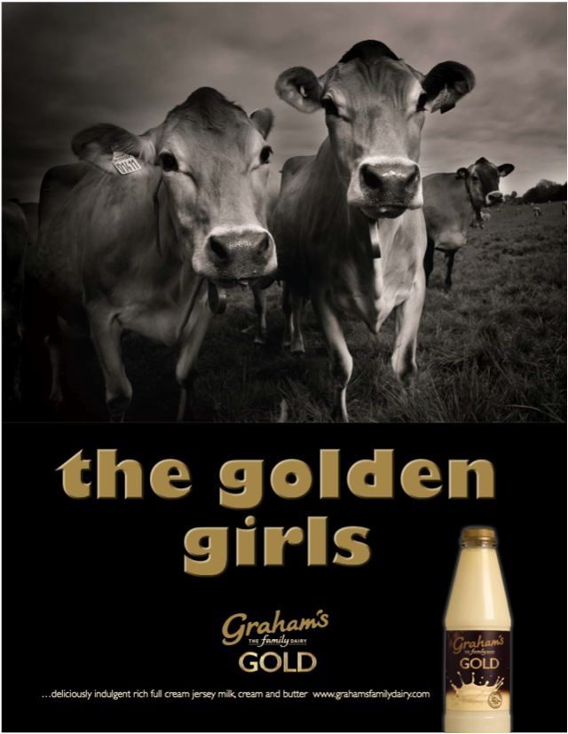 Graham's The Family Dairy advertising