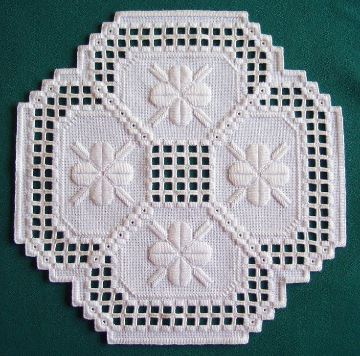 Free Hardanger Doily Patterns