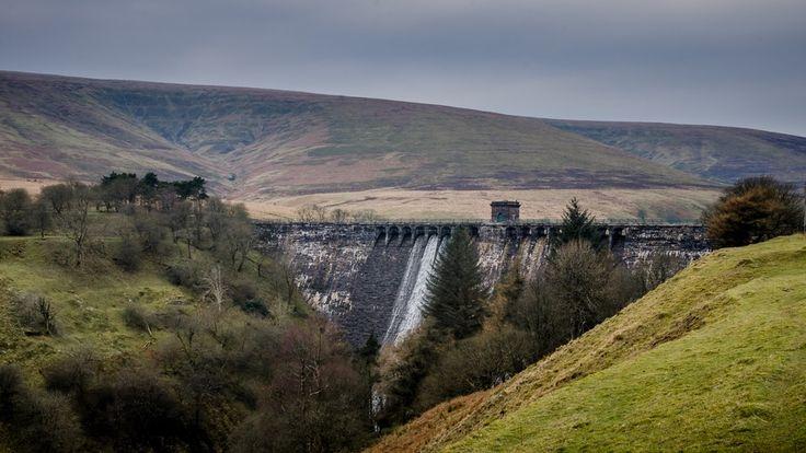 The Grwyne Fawr Dam