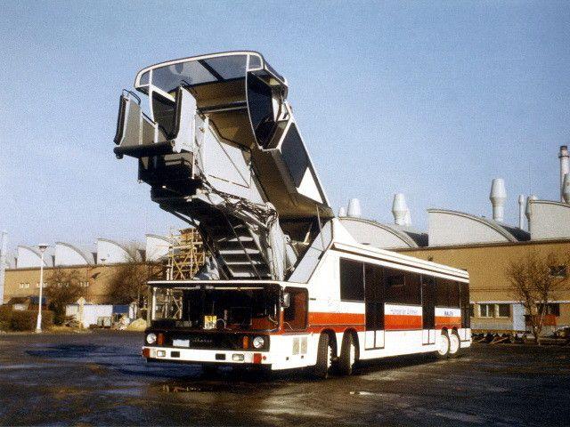41. Уникальная помесь: телетрап и автобус для аэропорта