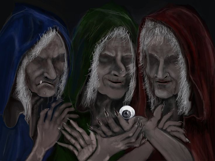 The Graeae Sisters by Rjrazar1.